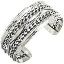 Vintage Navajo Silver Cuff