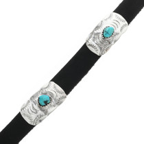 Handmade Sterling Turquoise Hatband 31288