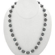 Navajo Hematite Bead Necklace 31291