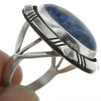 Navajo Denim Lapis Sterling Silver Ring 31295