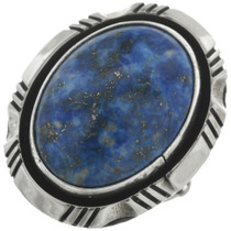 Vintage Native American Lapis Ring 31295