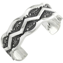 Native American Sterling Silver Bracelet