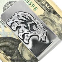 Navajo Overlay Silver Money Clip 31319