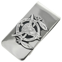 Native American Sterling Silver Money Clip 31331