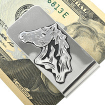 Western Horse Money Clip 31334