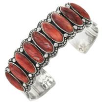 Vintage Spiny Oyster Silver Bracelet 31359