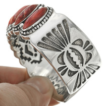 Native American Red Shell Bracelet 31359