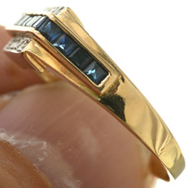 14K Gold Sapphire Ring 31362