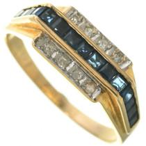Vintage Gold Gemstone Ring 31362