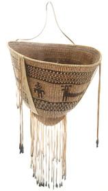 Vintage Authentic Apache Burden Basket 30569