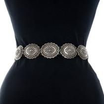 Vintage Native American Concho Belt 31372