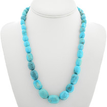 Natural Turquoise Nugget Necklace 31386