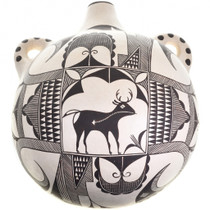 Native American Acoma Pottery Jug 31402