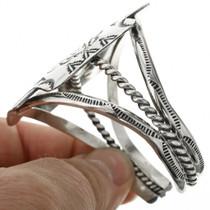Native American Silver Western Cuff 31409