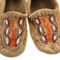 Alaskan Indian Beaded Moccasins 31505