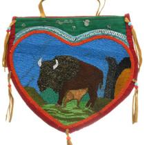 Vintage Nez Perce Beaded Bag Purse 31509