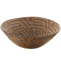 Authentic Traditional Native American Basket 31427