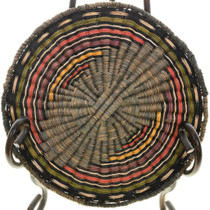 Vintage Third Mesa Hopi Wicker Basket 31435