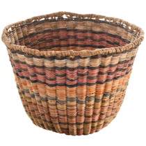 Vintage Hopi Wicker Basket 31438