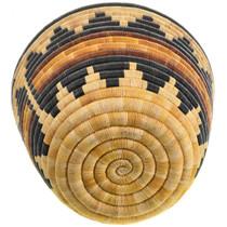 Hopi Hand Woven Second Mesa Wedding Bowl 31439