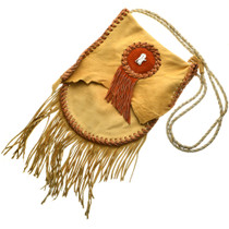 Native American Leather Purse 31448