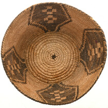Hand Woven Pima Papago Basket 31450
