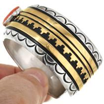 Vintage Native American Cuff Bracelet 31475