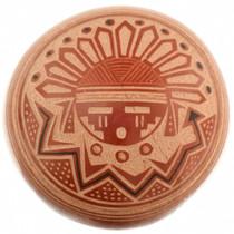 Sunface Kachina Jemez Pottery 31486