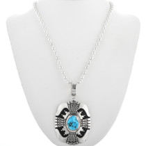 Tommy Rose Singer Turquoise Pendant 31611 31611