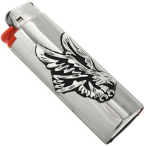 Navajo Silver Eagle Lighter Case 31626