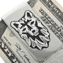 Silver Navajo Money Clip 31635