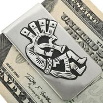 Overlaid Silver Money Clip 31637