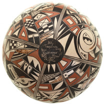 Hand Painted Hopi Tribe Pottery 31648