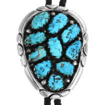 Turquoise Nugget Bolo Tie 31697