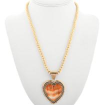 Navajo Heart Pendant 31716