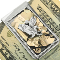 Eagle Gold Silver Money Clip 31722