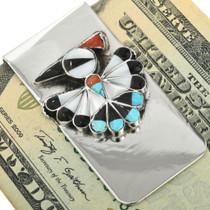 Zuni Thunderbird Money Clip 31723