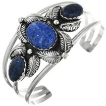 Old Pawn Denim Lapis Silver Bracelet 31725