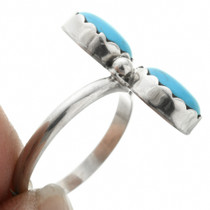 Blue Turquoise Ring  31751