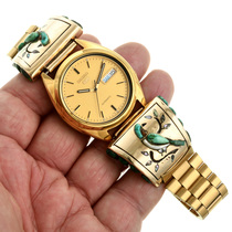 Cobblestone Bird Design Mens Watch