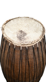 Tall African Wood Drum 31809