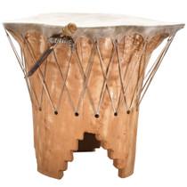 Large Vintage Taos Pueblo Pow Wow Drum31810