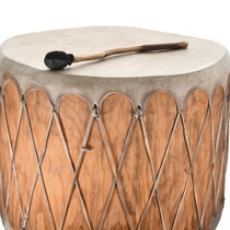 Native American Wood Log Drum 31811