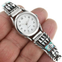 Ladies Watch Bracelet Sterling Southwest Tips 31842