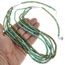 Native American Turquoise Beaded Necklace 31855