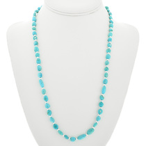 Natural Sleeping Beauty Turquoise Necklace 31859