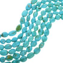 Natural Kingman Turquoise Beads 31915