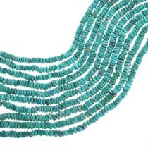 Natural Turquoise Heishi Beads 31921