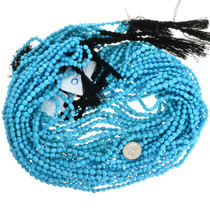 Natural Untreated Turquoise Beads 31925