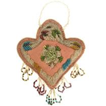 Antique Arapaho Beaded Heart Whimsy 31871